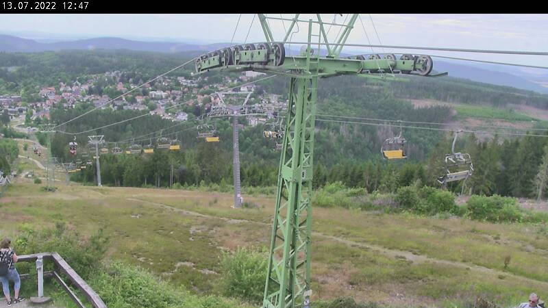 Webcam Bocksbergseilbahn