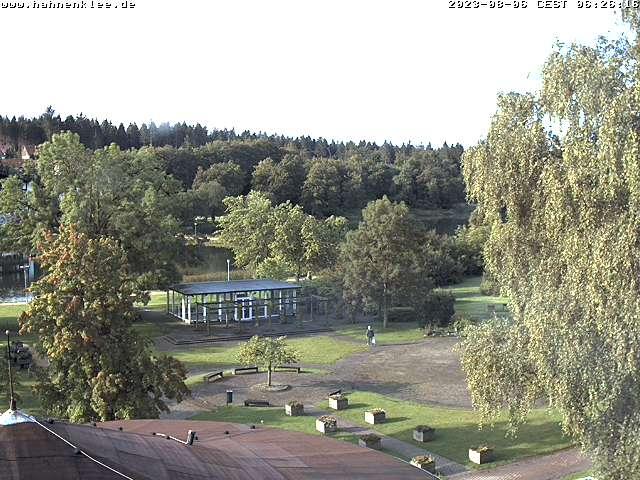 Webcam Skigebiet Hahnenklee - Bocksberg Kurpark - Harz