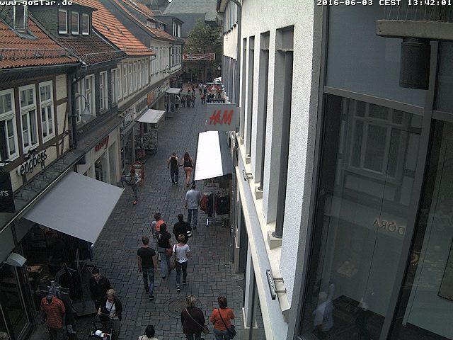 Goslar, Kaiserpassage und Fischemäker Straße